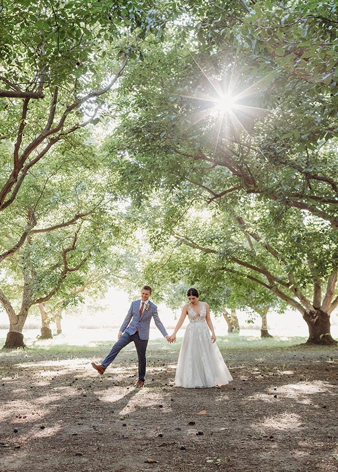 Stephanie & Kyle Liz Koston Photography Full Belly Farm Wedding