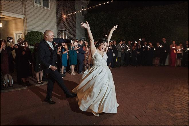 Жюстин Эдвард Бискайя Сакраменто Вечерняя Поместье Свадебный Храм Фотография