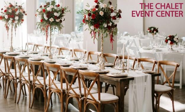 Rocklin Sacramento Tahoe Wedding Venue | The Chalet Event Center