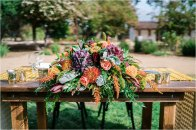 The Maples Woodland Autumn Midcentury Modern-inspired Wedding by Valley Images Photography Emily and Mikey