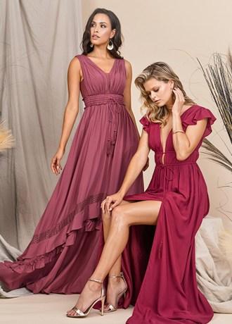 Real Weddings Magazine Contest Giveaway Bridesmaids Dresses Azazie Boho | Best Sacramento Tahoe Northern California Vendors