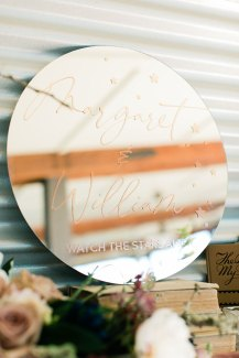 Hailey Ayson Photography Helwig Winery Real Weddings Magazine Celestial Wedding Sacramento