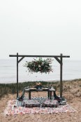 Lake Tahoe Snowy Shoot on the Beach by Holly Shankland Photography
