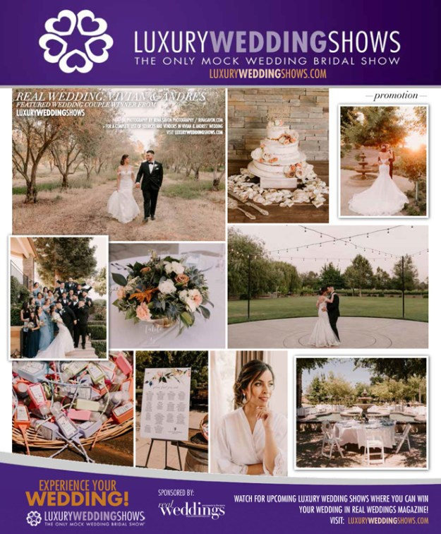 Irina Savon Photography Sacramento Real Weddings Magazine Luxury Wedding Shows Vivian Andres