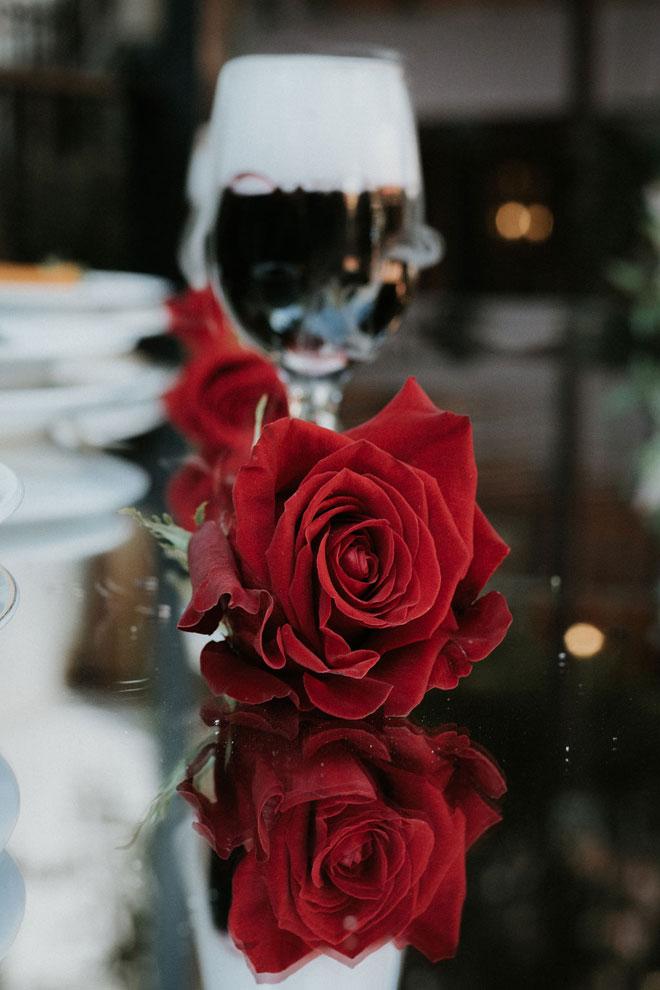 Spooky Halloween Wedding Sacramento Streltizia Flower Company Real Weddings Magazine