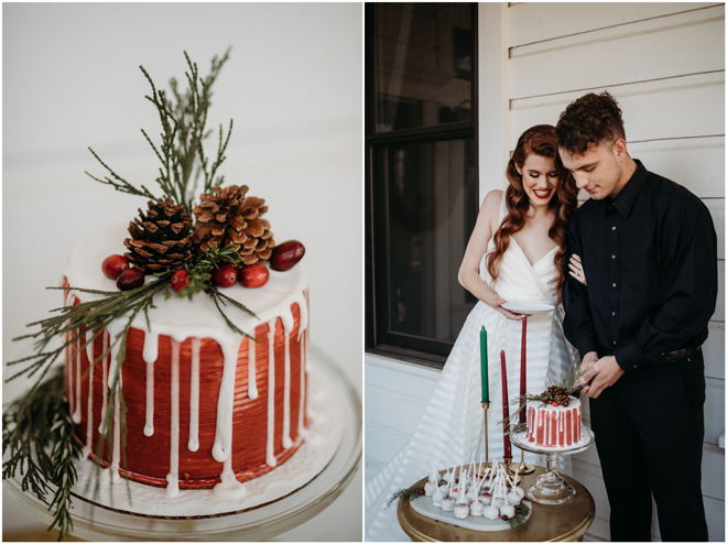 Christmas-Themed Inspiration Styled Shoot | Elopement | Micro-Wedding | Sacramento Auburn Roseville Event Rentals