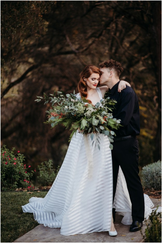 Christmas-Themed Inspiration Styled Shoot | Elopement | Micro-Wedding | Sacramento Adventure Photographer