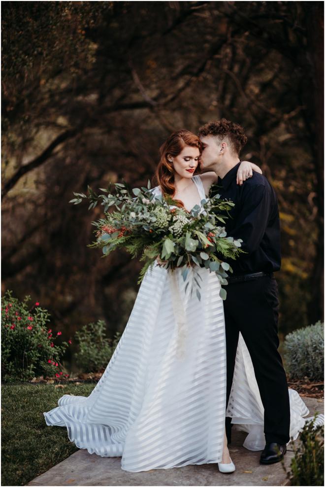 Christmas-Themed Inspiration Styled Shoot | Elopement | Micro-Wedding | Sacramento Adventure Photographer