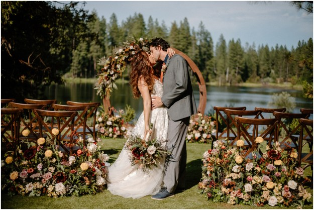 Fall Inspired Minimony MIcro Wedding Styled Shoot | Bridal Gowns Dresses | Second Summer Bride Sacramento