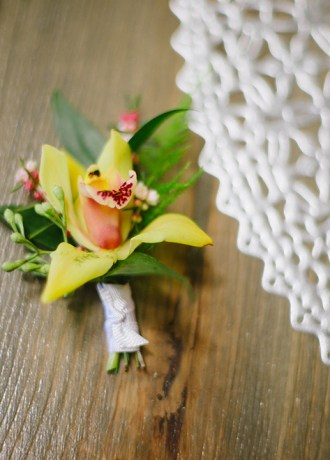 Hillside Blooms Floristry-Boutonniere-SF19-1