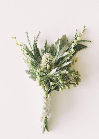 Hillside Blooms Floristry-Boutonniere-SF19-3
