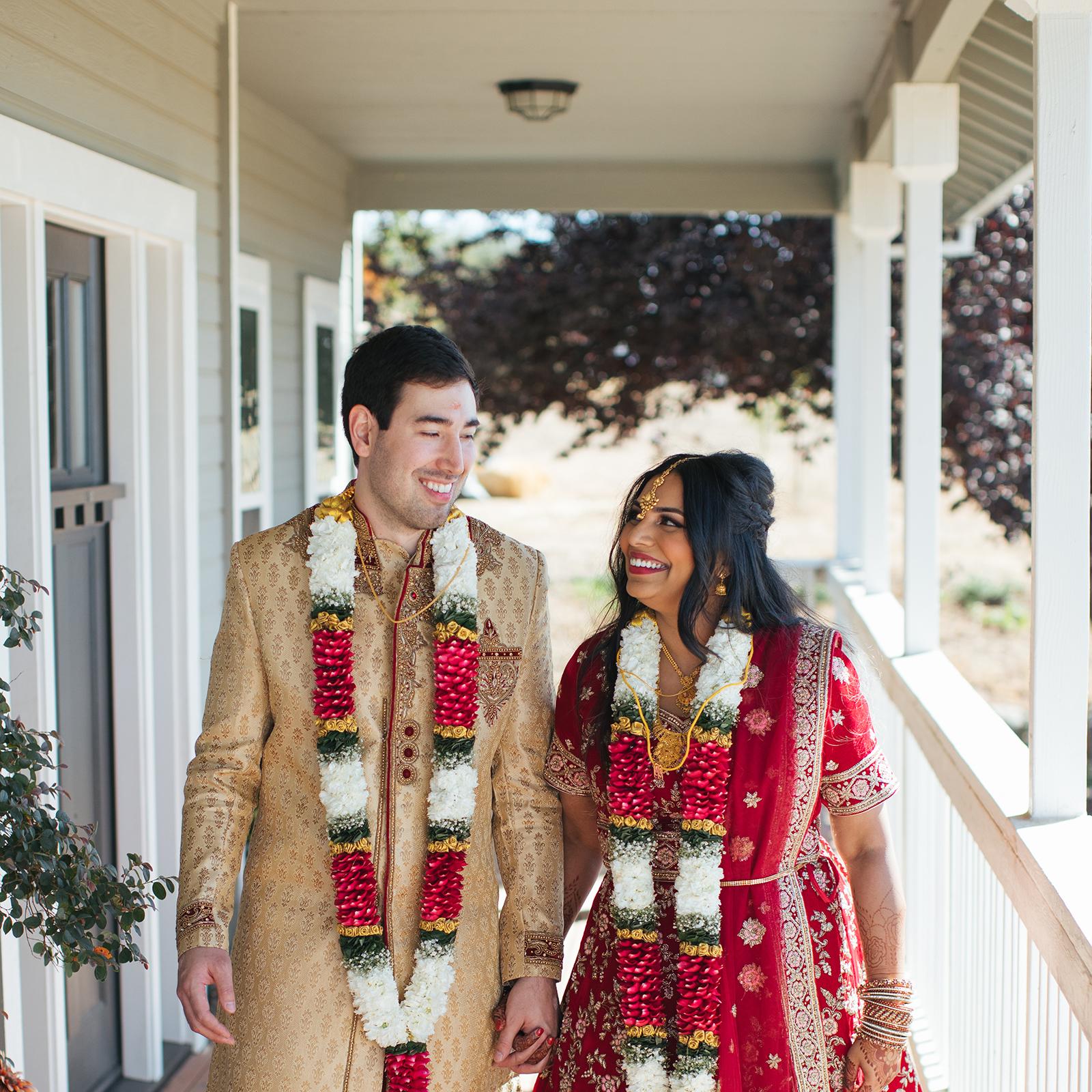 Lixxim Photography Shobana + Chris Lincoln Backyard Indian Wedding
