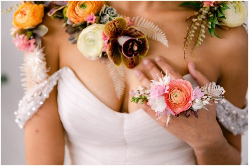 Bridal Floral Drape - Sacramento Wedding Styled Shoot - Flourish - Bloom Phtoography