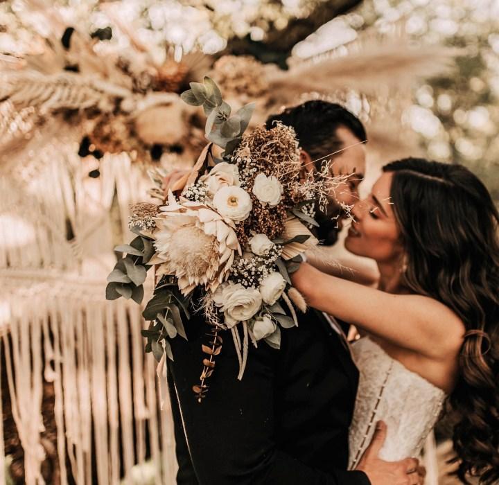 Boho Rustic Romantic Gold HIll Gardens Sacramento Wedding Venue