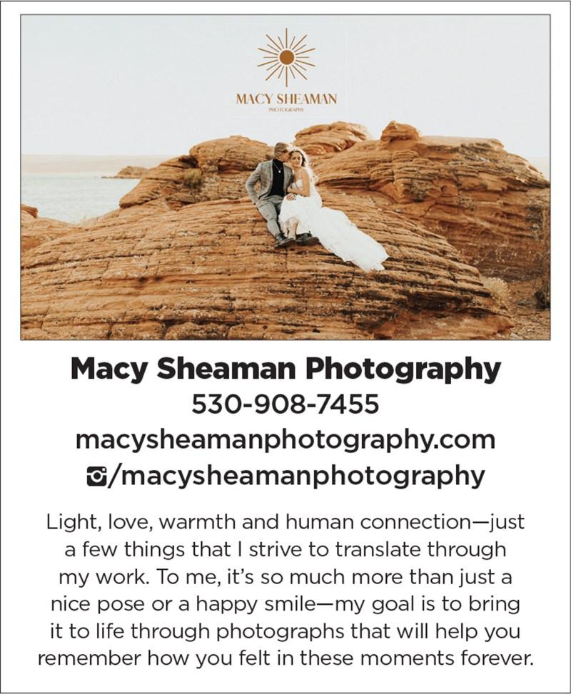 Sacramento Tahoe Adventure Travel Wedding Photography