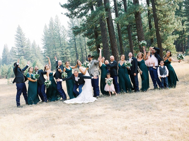 Jennifer Clapp Photography Kelly & Nicholas Portola Backyard Wedding