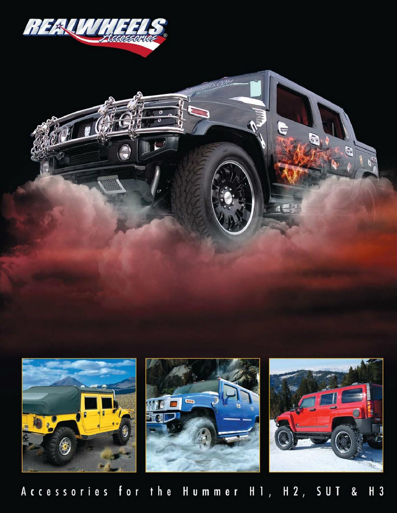 Hummer H1 Vs H2 : hummer, RealWheels, Hummer, Accessories, Catalog