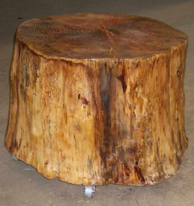 Douglas Fir Slab Table