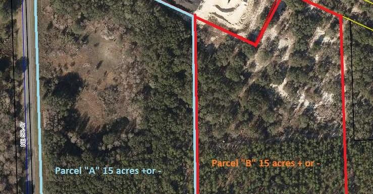 Barker parcel a b aerial map 9.15.21