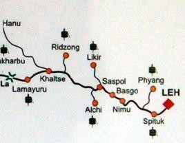 lamayuru route map