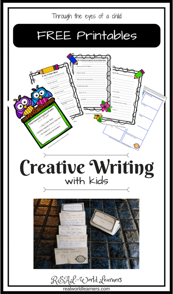 Creative Writing with Kids, part 1