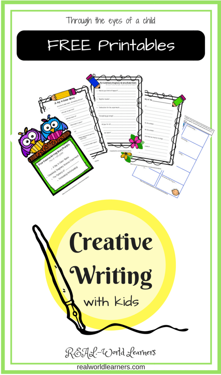 Creative Writing with Kids, part 2