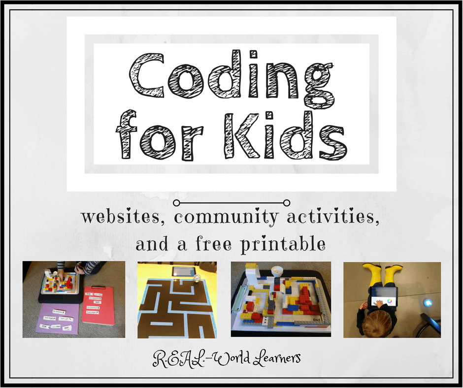 Coding for kids - Resources and ideas