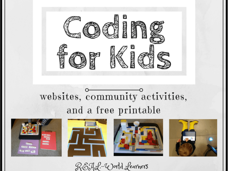 Coding for Kids | our favorite websites (with lessons, games, and coding challenges), community activities, and free printables |