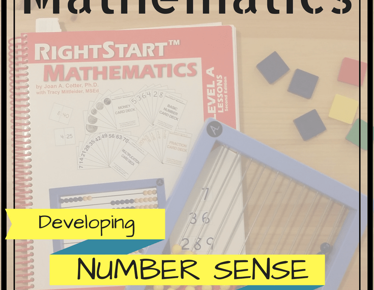 Review of RightStart Mathematics - developing number sense through hands-on activities