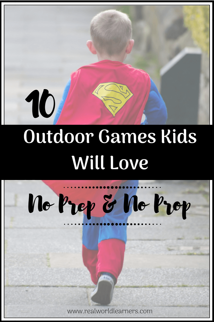 Fun Outdoor Games Kids Will Love