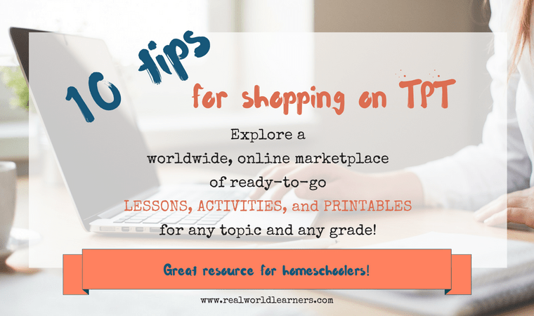 10 tips for shopping on TPT - get the most benefit out of this worldwide, online educational marketplace by following these tips.
