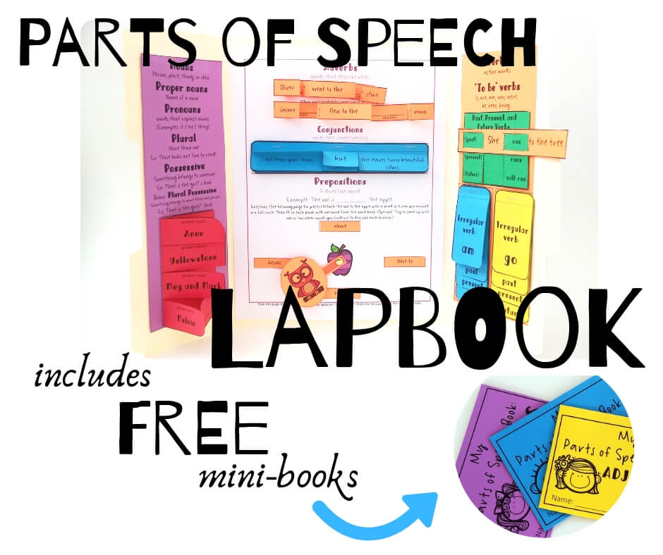 Parts of Speech activities for kids