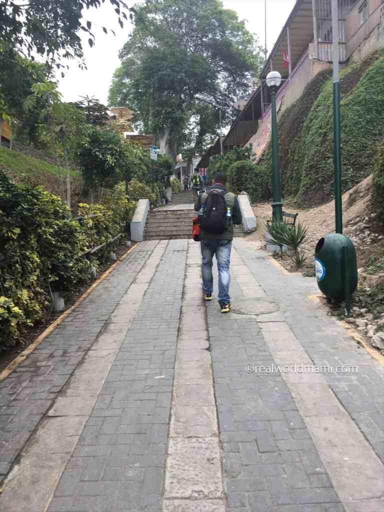 Ocean Path in Lima Barranco