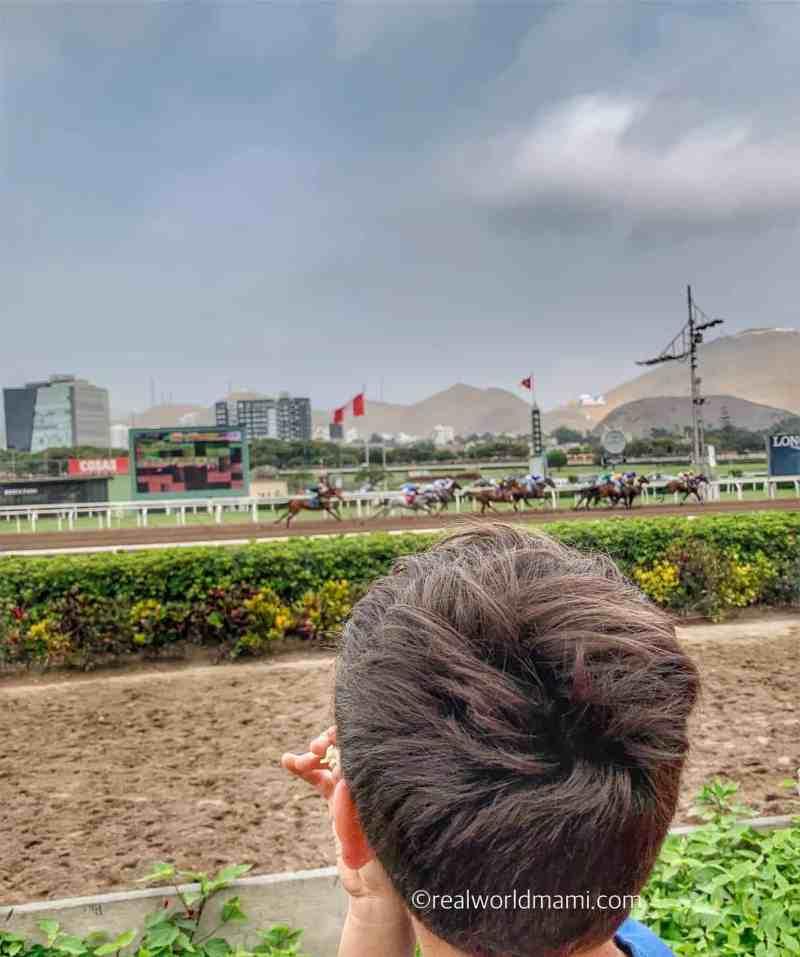 Monterrico Horse race track
