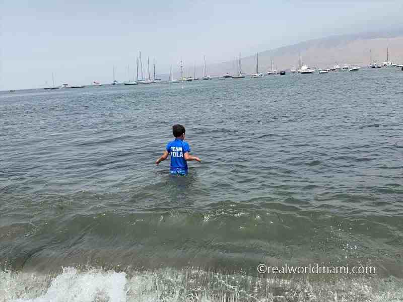 Lima with kids Ancon