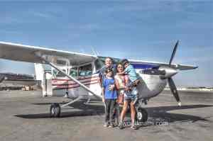 Family Flying Nazca Line