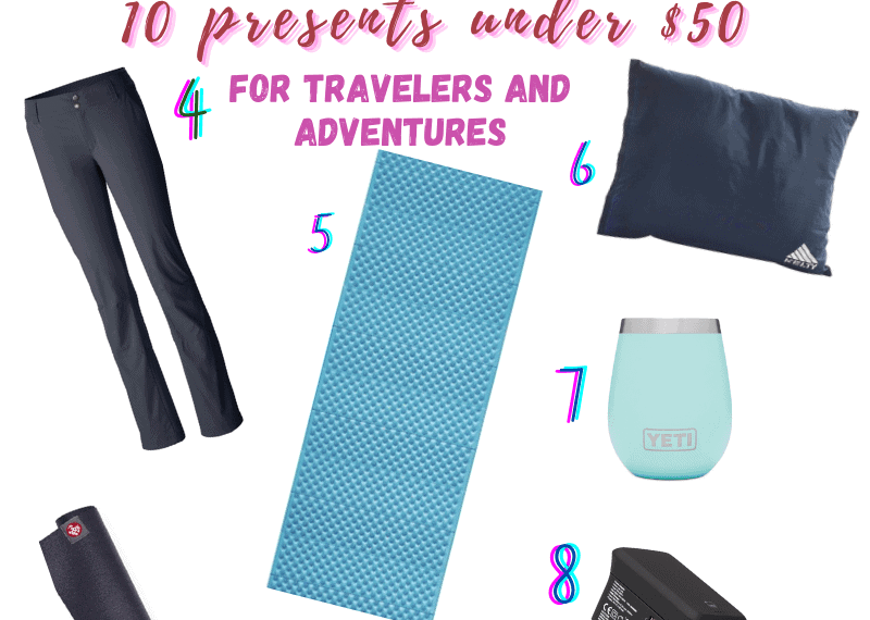 10 Presents Under $50 for Travel and Adventure Lovers