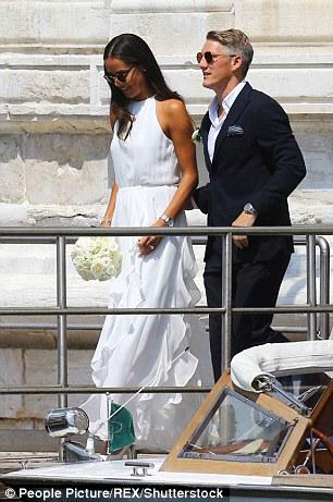 Football Meets Tennis As Schweinsteiger Weds Ana Ivanovic .,