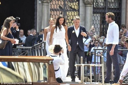 Football Meets Tennis As Schweinsteiger Weds Ana Ivanovic ..,
