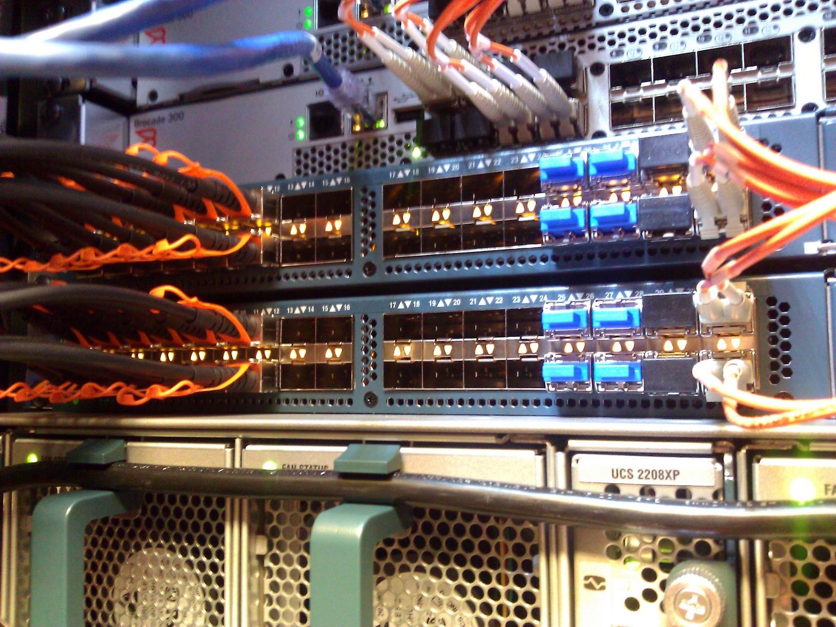 Cisco UCS FC uplinks to Brocade Fabric – Real World UCS