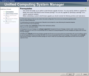 Blade Firmware Update 1