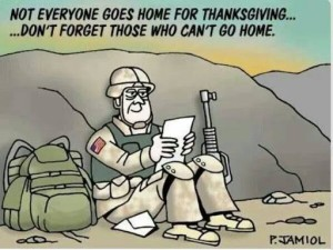 Not Everyone Goes home Thanksgiving
