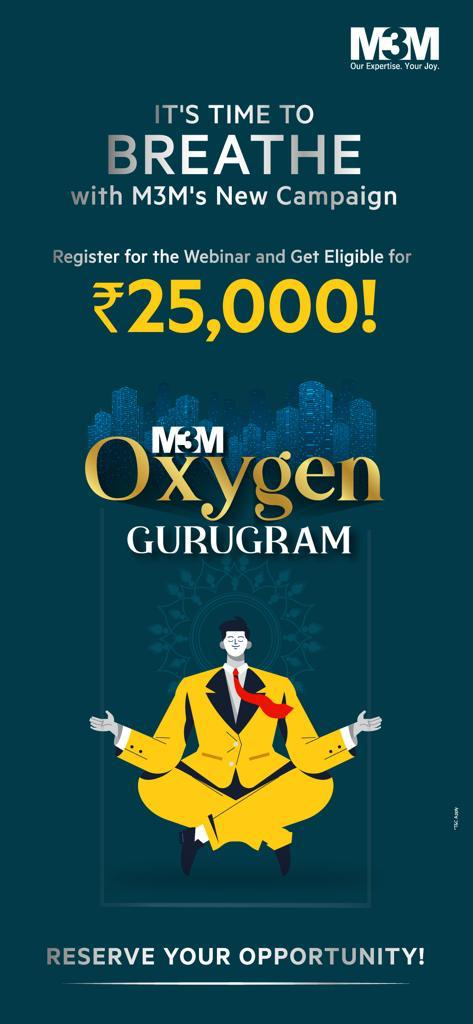 M3M Oxygen 2021 Live Event | How to win 25000 in M3M Oxygen 2021?