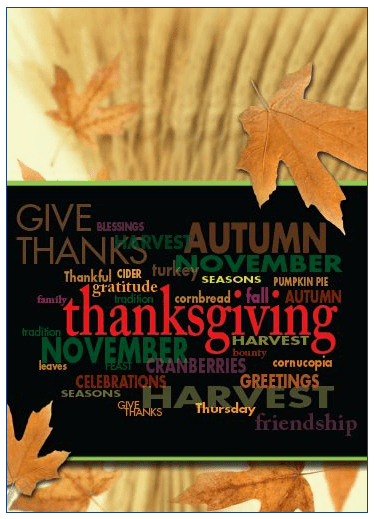 Real Estate Marketing Tools Blog Archive Give Thanks