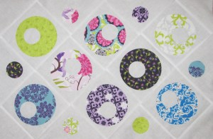 Nested Circles Doll Quilt