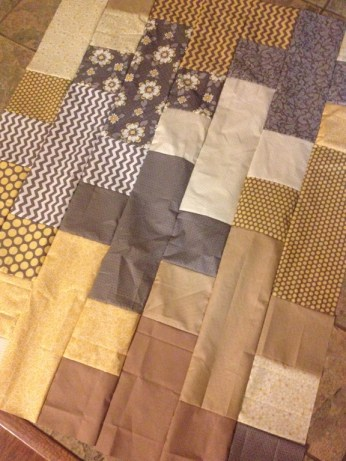 Plus Yellow Quilt | ReannaLIly Designs