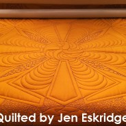 Buggin Out: Machine Quilted Wholecloth