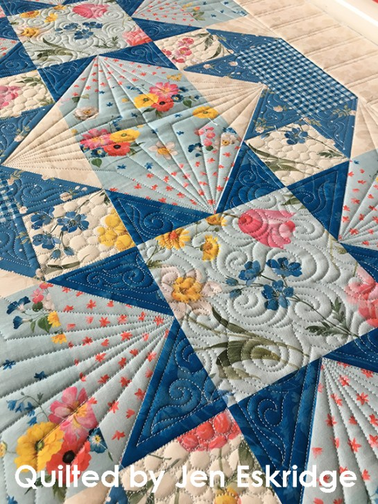Custom Quilting by Jen Eskridge - ReannaLily Designs - ReannaLily Quilts - Longarm Quilting