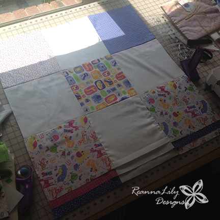 Lily and Loom   Boundless Fabric by Craftsy   ReannaLily Designs   Disappearing 9-Patch   Jen Eskridge