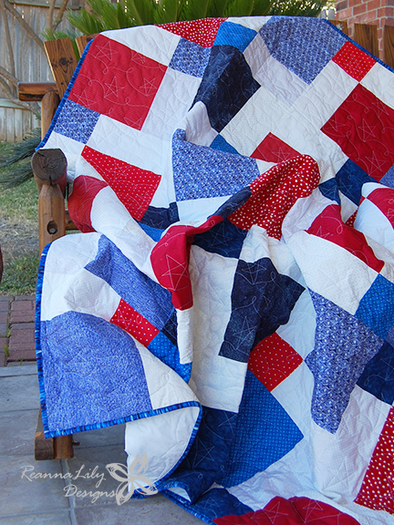 Disappearing 9-Patch with Layer Cakes   Jen Eskridge   ReannaLily Designs   Quilt Pattern